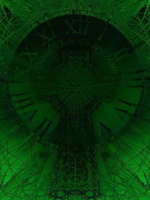 """Celtic Cross Clock"" on Flickr.Happy St. Patrick's Day! God be with you all!"