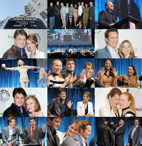 theworldisabigstage:  Castle Panel at PaleyFest'12