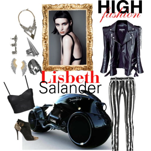 Glam Lisbeth Salander by glam-val featuring bootie bootsNeon Hart bustier shirt, $60Balmain faded jeans, $1,501Aurélie Bidermann oxidized silver jewelry, $1,260SHOUROUK tri color jewelry, $830SHOUROUK crystal jewelry, $650Roberto Cavalli gold plating jewelry, $600Dominic Jones gold plating jewelry, $415