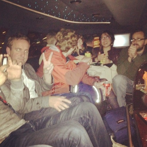 Team limo!! (Taken with instagram)