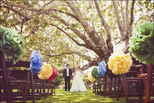 (via Ceremony Decor on a Budget « Inspiration « Bow Ties & Bliss | One of a Kind Wedding Inspiration From the Pacific Northwest)