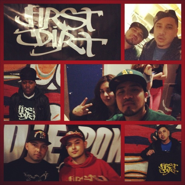 @FirstDirt #DailyDuels @TimothyRhyme @NayTheProducer @Amits909 #Sacramento #firstdirt #teambackhand #hiphop #MC #Vintage #IGers #instagram #Battle   (Taken with instagram)