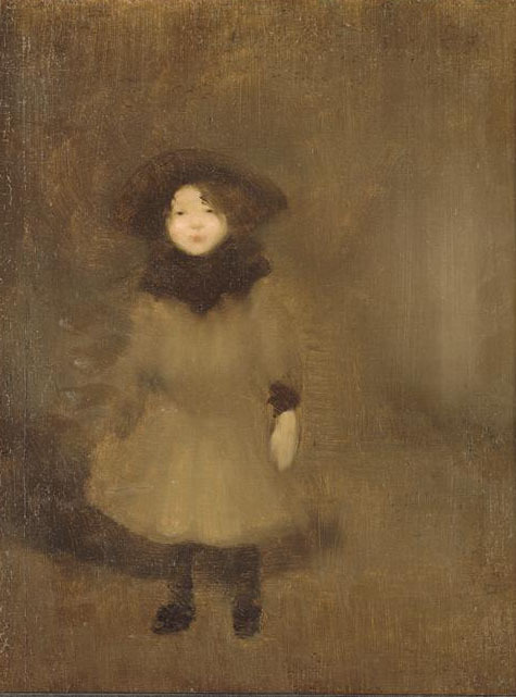 "windypoplarsroom:   Eugene Carriere ""Nelly C.arriere, daughter of the Artist"""