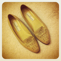 Vintage loafers. Bought for $8 :).