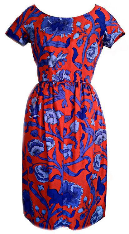omgthatdress:  Dress Mollie Parnis, 1960s 1stdibs.com