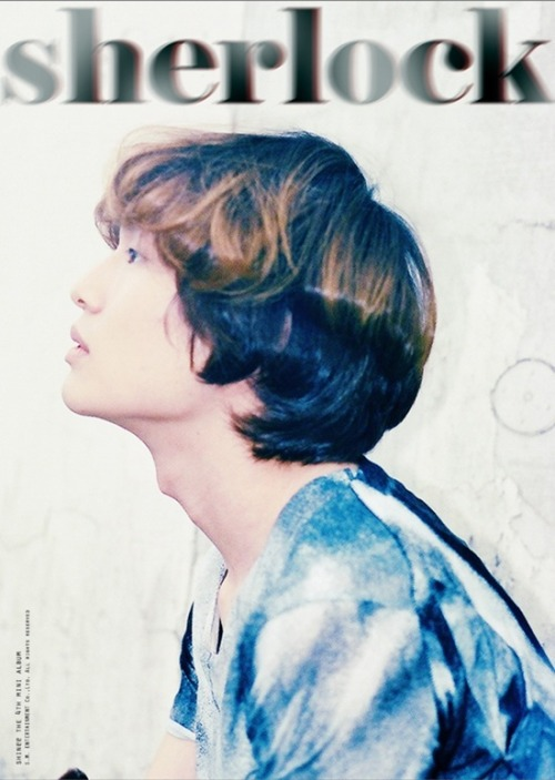 Onew from SHINee's teaser pictures for Sherlock See more and read more here