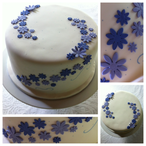 This weeks cake ~ for my Grand-ma