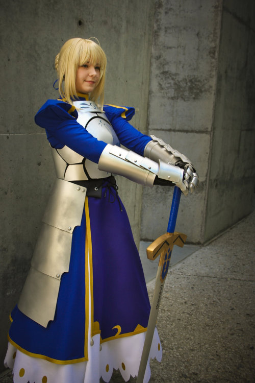 The Living Incarnation of Saber by *gamefan23