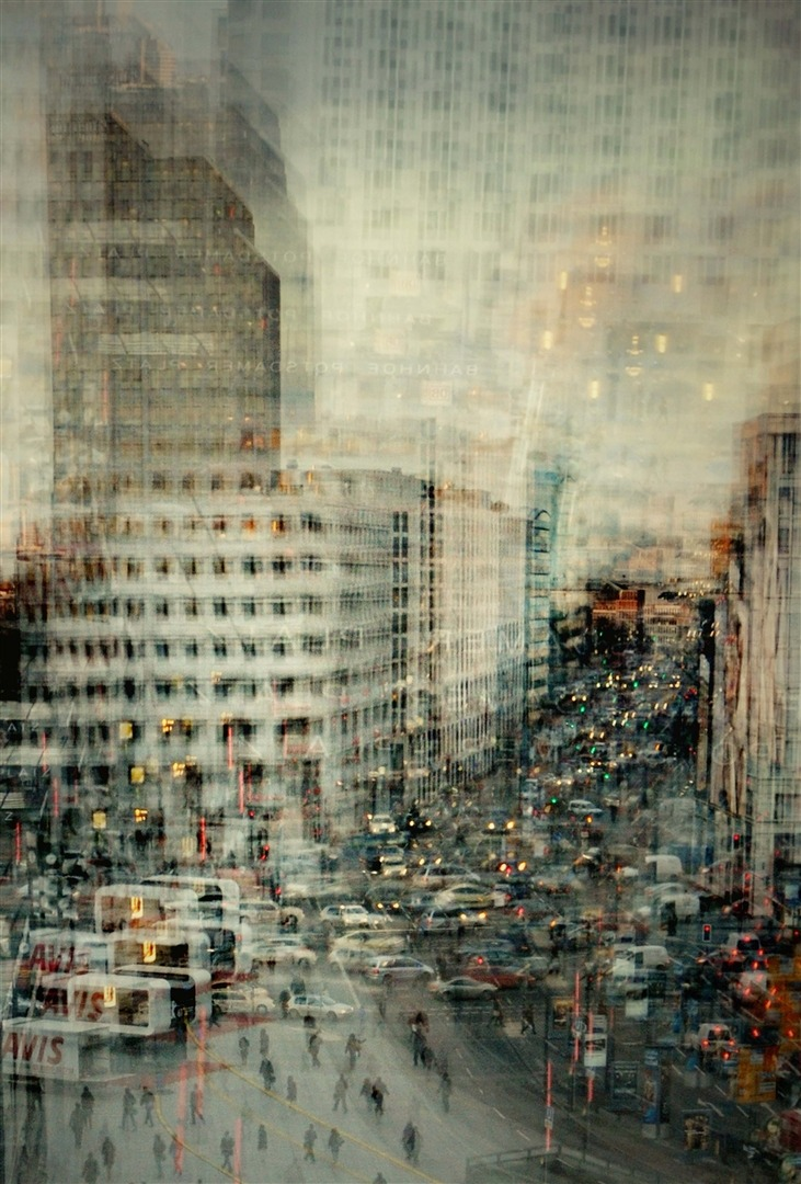 """Potsdamer Platz""Stephanie Jung (Germany) via Curioos"