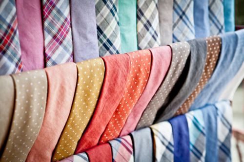 colorful ties!