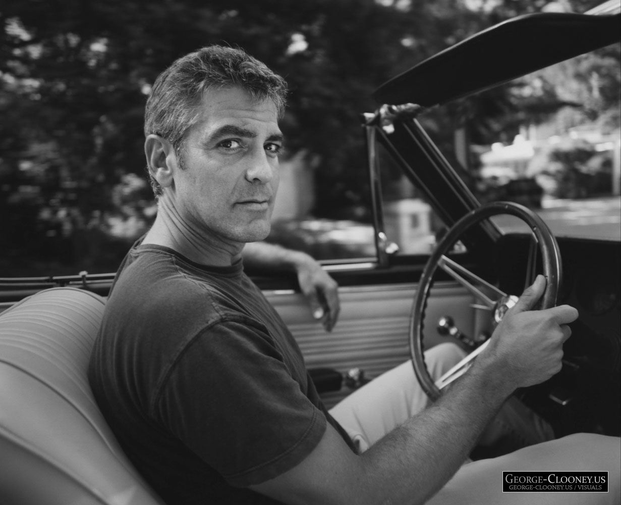 George Clooney by Sam Jones
