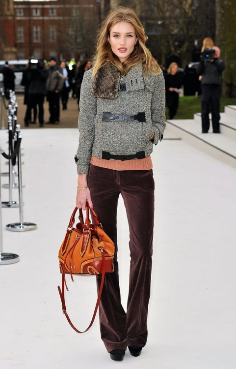 delica-te:  RHW at the Burberry Show 2012