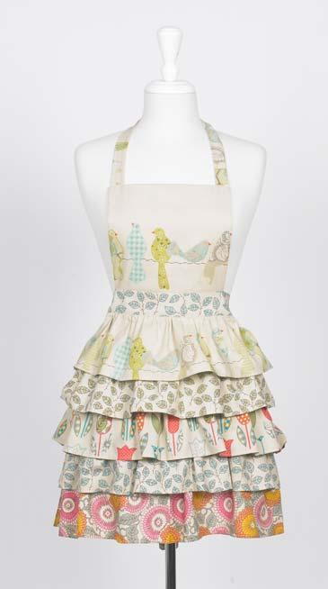 prettylittlepieces:  How to Make a Frilly Apron