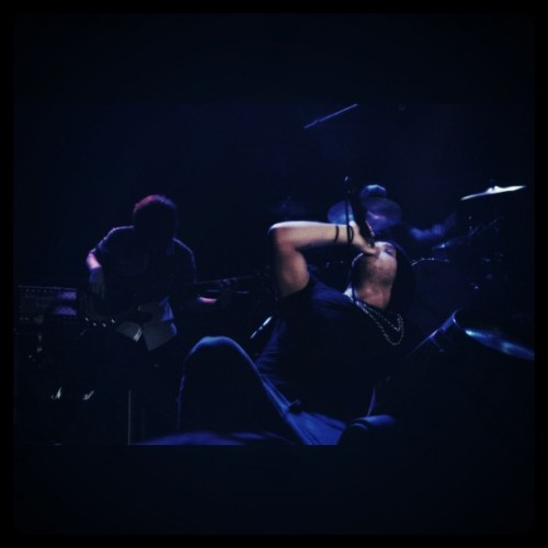Alex from The Cab (He really sounds good live!) (Taken with instagram)