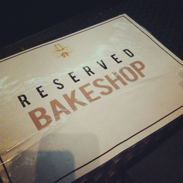 Bakeshop! #bakeshop #littlejase  (Taken with instagram)