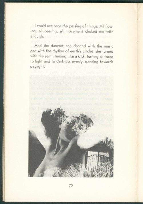 House of Incest, Anaïs Nin. Photomontage by Val Telberg.