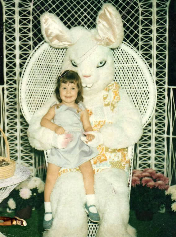 Evil Rabbit and Little Girl