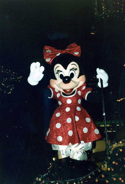 minnie on parade, aug '83 by JLovely (DisRunner) on Flickr.