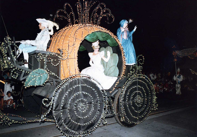 cinderella, aug '83 by JLovely (DisRunner) on Flickr   because she kept running away from the ball!