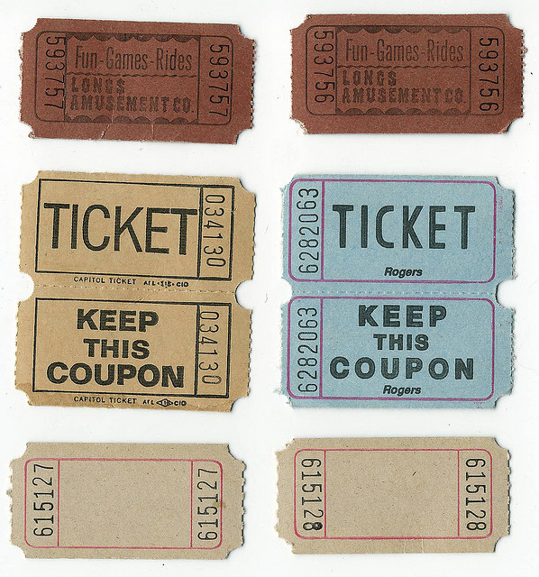 (❀ Amusement - Tickets - Blank Ticket | Flickr - Photo Sharing!)