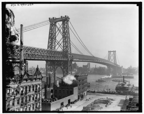 barbaraeatworld:  via archimaps: The Williamsburg Bridge, New York