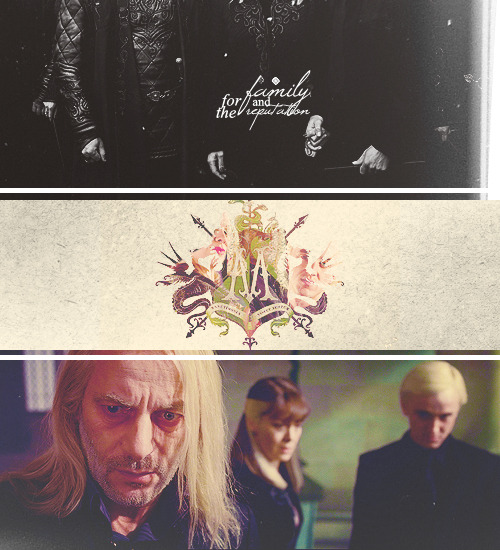 thefirsthorcrux:  Harry Potter Families: The Malfoys