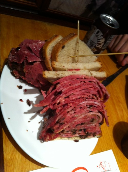 In the meantime, pastrami, pastrami everywhere