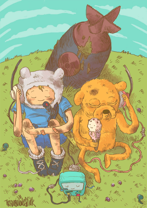 svalts:  Adventure Time - by Triangulodef