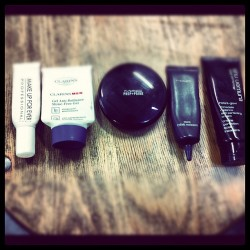 A lesson in matte foundations / on set with Makeup artist Michelle Rainer  (Taken with instagram)