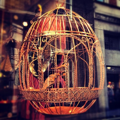 Egg No 41 – All the Stars, Moon & Sun by Ajay Padda #mayfair #london #faberge #bigegghunt #savilerow (Taken with Instagram at Gieves & Hawkes)