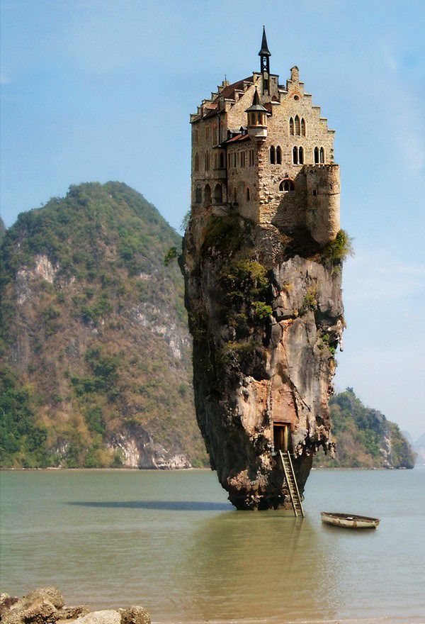 cjwho:  10 Cool Photoshopped Pictures of Houses ~ http://bit.ly/yGoIno