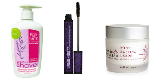 3 Beauty Products We're Obsessed With Right Now Kiss My Face Moisture ShaveFor the longest time my body wash doubled as shaving cream…until I tried this. Never again. The tiniest bit gets you through both legs, so the already inexpensive bottle goes a long way. Urban Decay Skyscraper MascaraI never leave my house without putting on mascara, and this one is amazing. It's everything you dream of in a mascara (lengthening! thickening! eye-sexifying!), but it looks totally natural and the silicon brush makes for a quick and easy application. Renee Rouleau Mint Buffing BeadsThis is hand's down the best facial scrub I've found. The exfoliant (jojoba beads) in this scrub is super-fine and not at all irritating. I use it every other day (T-zone only) to keep my skin smooth and pores clear.