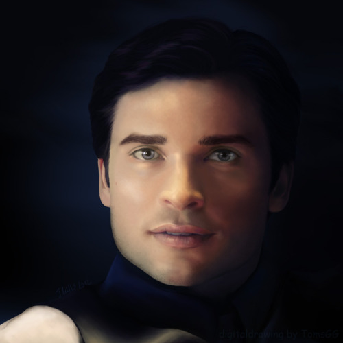 digitaldrawing of Tom Welling aka Clark Luther :-)  Wasn't he just great in that character?  I MISS SMALLVILLE!!!!  I drew this when the episode aired but didn't finish it until today. i drew it from reference screenshot, but i made a few change, you who are familiar with that scene will know what :-))  So this is for all those who misses smallville as much as i do (bad english sorry)   Clark Kent - Clark Luthor - on deviantart