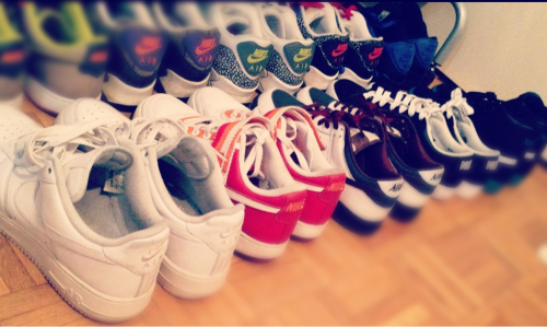 Organizing my Nikes!