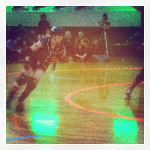 Crazy Dukes of the Rhode Island Riveters Enjoyed my very first roller derby bout last night at the Ocean Club in Narragansett. What an awesome sport! Can't wait to go to more of these events!!! Come say hi to me at the Yelp.com booth.