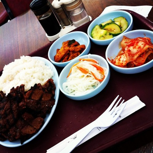 About to mash on this galbi!  (Taken with instagram)