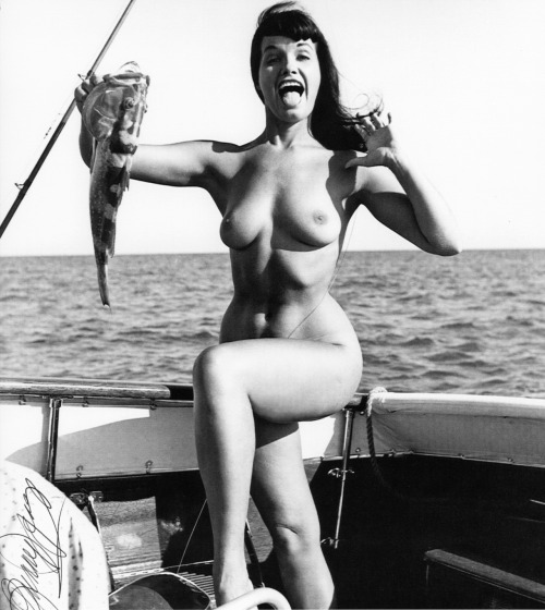 alwaysaroused:  Bettie Page by Bunny Yeager c. 1954