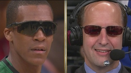 (via PHOTO: Rajon Rondo Wear Shades Vs. Lakers; Deal With It - From Our Editors - SBNation.com) JVG is the BEST