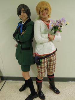 Finny and his master Ciel at Springfest 2012