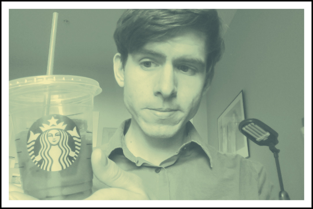 Today's GPOY is brought to you by Starbucks Iced Coffee. Get it to go if there aren't any empty tables at the cafe.