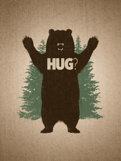 tigerlungs:  Bear Hug by Powerpig