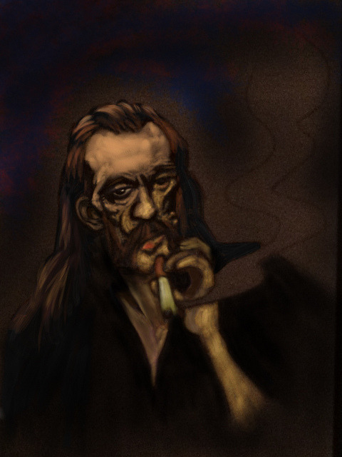 Mr Kilmister (w.i.p. 5) on Flickr.