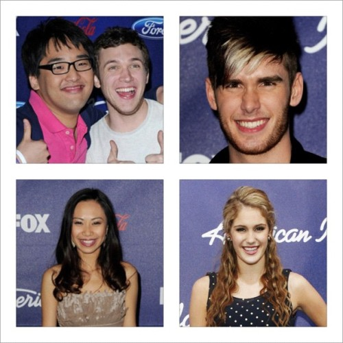 #Heejun #phillipphillips #Jessica #Shannon my #idol favorites  (Taken with instagram)