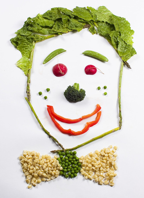 Veggie Face! by Danielle Chandler