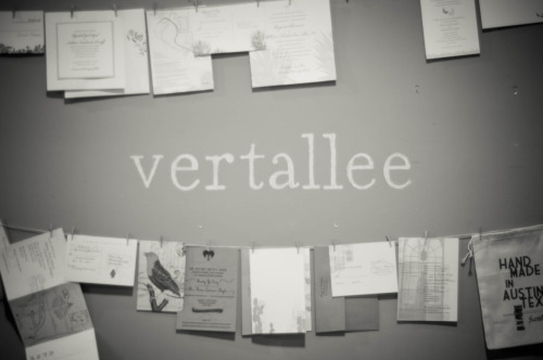 Last week I had the privilege of visiting the Vertallee Letterpress studio space. The first day I went, I forgot my SD card. Whomp whomp. But Brad (one of the owners) was cool enough to let me come back the next day & take pictures of him & Casey working. One thing I got just by watching them is that their attention to detail is crazy. Plus, everything is printed on a windmill press, so the quality is way up there. I'm actually glad I had the camera mishap the first day, because spending time in the studio with them, listening to NPR, & taking pictures the second time around was nice. Side note: I'm slowly moving back to wordpress, so to see the rest of the Vertallee pictures, go HERE.