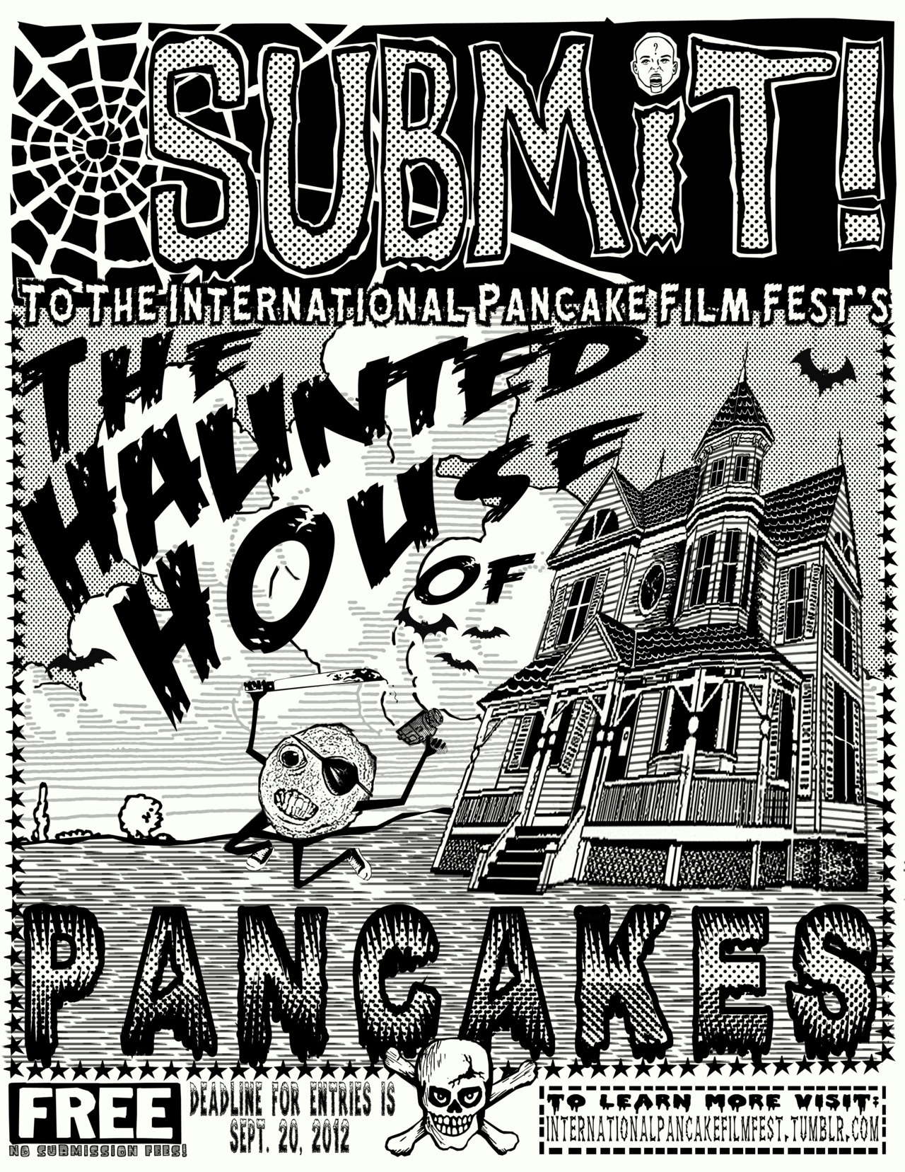 internationalpancakefilmfest:  Call for Entries Flier 2012