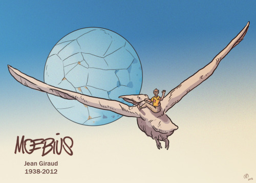 My Homage to the legendary Jean Giraud. 1938-2012