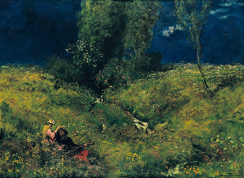 wooly-jumpers:  Hans Thoma, Summer, 1872