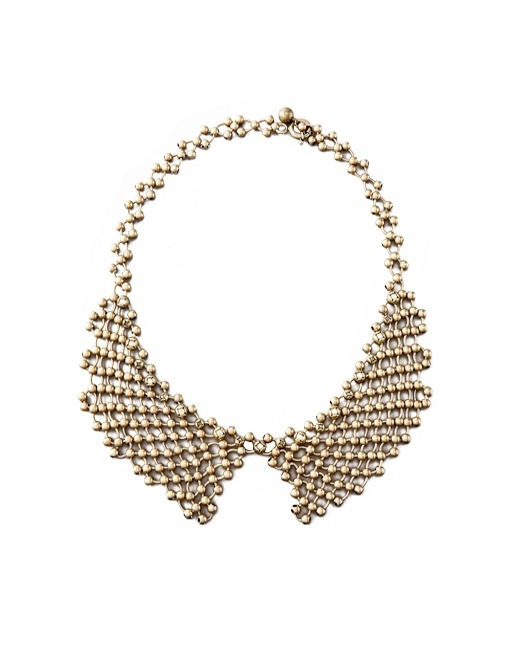 what-do-i-wear:  Lanvin, Beaded-chain Collar Necklace ($1330) in Brown