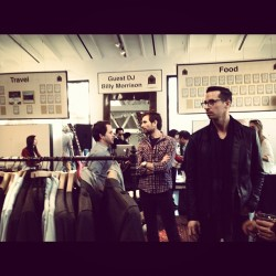 John varvatos' benefit party (Taken with instagram)